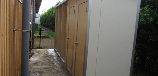 千葉県匝瑳市 仮設トイレ(屋外トイレ)