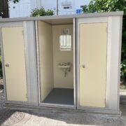 神奈川県川崎市 仮設トイレ(屋外トイレ)
